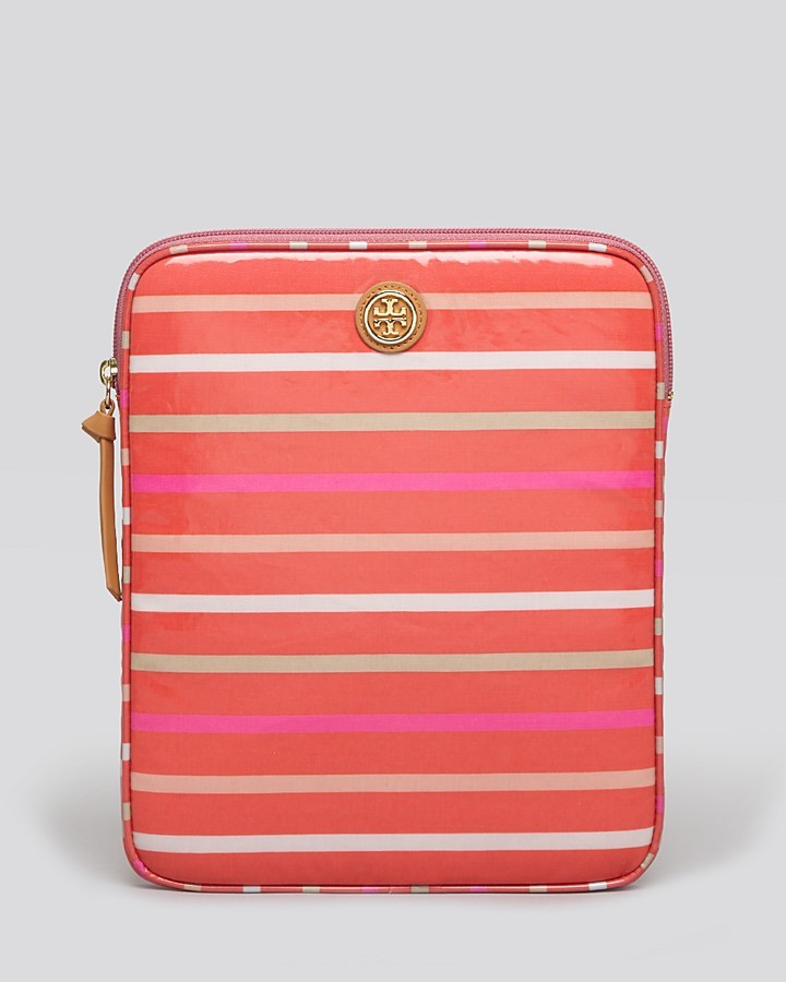Tory Burch Tablet Case - Striped North South