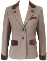 Hermes Brown Wool Jacket