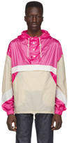 Isabel Marant Pink and Beige Kizzy Jacket