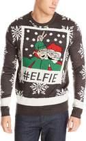 3 Santas Men's Elfie Ugly Christmas Sweater