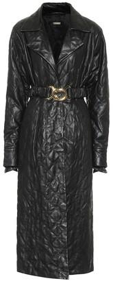 Dodo Bar Or Leather wrap dress