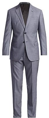 Emporio Armani Super 130 Virgin Wool Suit