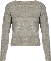 See by Chloe Round-neck looped-knit sweater