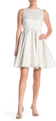 Betsey Johnson Open Back Dot Party Dress