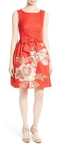 Ted Baker Women's Deemey Embroidered Jacquard Party Dress