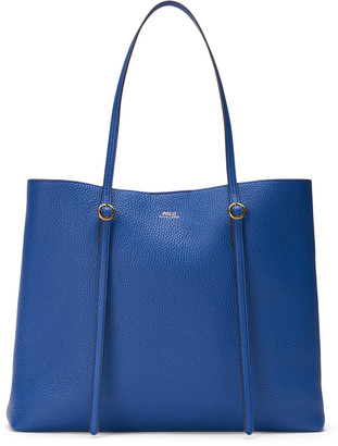 Ralph Lauren Pebbled Leather Lennox Tote