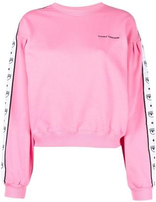 Chiara Ferragni Logomania sweatshirt