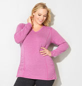 Avenue Ruched Active Long Sleeve Tee