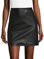 Manoush Perfect Leather Mini Skirt