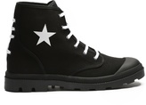 Givenchy Olympus Star-print Canvas Boots