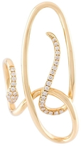 Yvonne Leon Serpent Diamond Earring