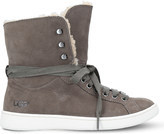 UGG Starlyn leather high-top trainers