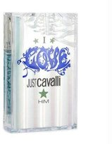 Roberto Cavalli Just Cavalli I Love Him Eau De Toilette Spray - 30ml/1oz