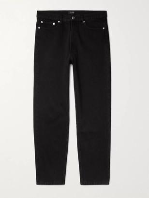 A.P.C. Martin Denim Jeans - Men - Black