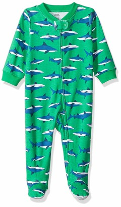 Amazon Essentials Baby Boys Zip-Front Footed Sleep and Play