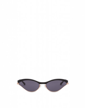 Moschino Sunglasses Sporty Cat Eye Woman Black Size Single Size