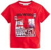 3 Pommes Infant Boys' Rowing Graphic Tee - Sizes 3-24 Months