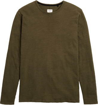 Rag & Bone Classic Men's Long Sleeve Cotton T-Shirt