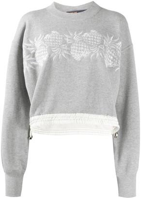 Sacai Branded Sweatshirt