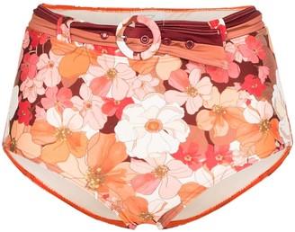 Peony Swimwear Wallflower high-waisted bikini bottoms