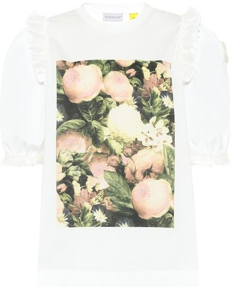 MONCLER GENIUS 4 MONCLER SIMONE ROCHA cotton T-shirt