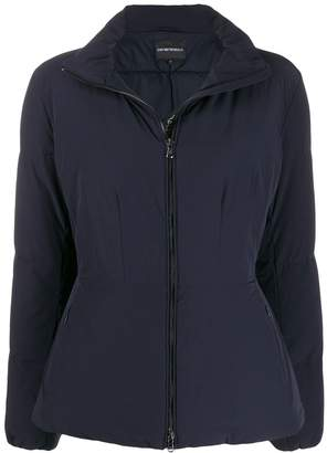 Emporio Armani zipped padded jacket