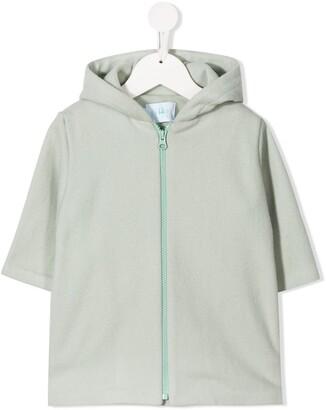 Eshvi Kids Zip-Up Organic Cotton Hoodie