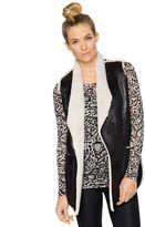 Pea Collection S.W.3. Faux Fur Maternity Vest