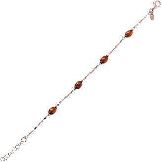 Honora Cultured Pearl Polished Bracelet, Sterling
