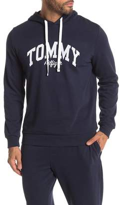Tommy Hilfiger Logo Pullover Fleece Lined Hoodie