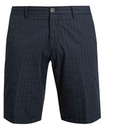 J.w.brine J.W. BRINE Free Donnie striped cotton shorts