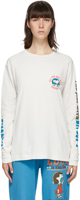 Marc Jacobs Off-White Peanuts Edition Snoopy Long Sleeve T-Shirt