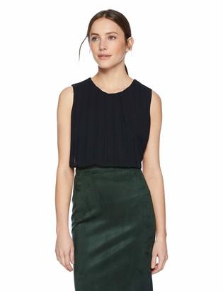 Calvin Klein Women's Sleeveless Bubble Front Top