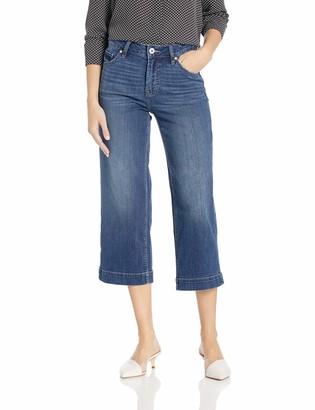 Jag Jeans Women's Lydia High Rise Wide Leg Crop