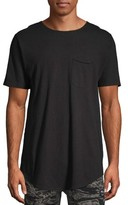 No Boundaries Men's and Big Men's Short Sleeve Elongated Tee, Up To Size 3XL