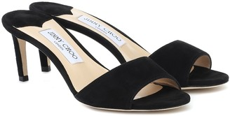 Jimmy Choo Stacey 65 suede sandals
