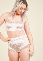 Mink Pink/ agent icon Velour Allure Sleep Shorts