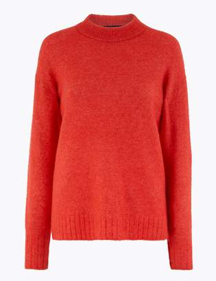 Marks and Spencer Alpaca Blend Jumper
