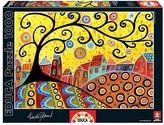 Educa 1000-pc. Karla Gerard Blooming Village Jigsaw Puzzle