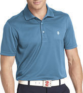 Izod Golf Short-Sleeve Grid Polo Shirt