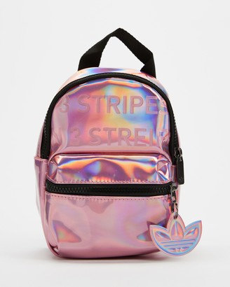 adidas Women's Pink Backpacks - Mini PU Leather Backpack - Size One Size at The Iconic