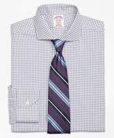 Brooks Brothers Non-Iron Madison Fit Framed Twin Check Dress Shirt
