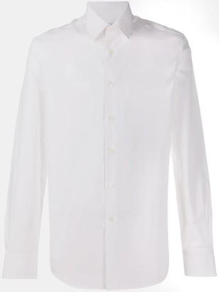 Salvatore Ferragamo Button-Up Poplin Shirt
