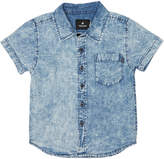 St Goliath Tots Boys Take Two Ss Shirt Blue