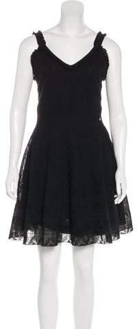Chanel 2017 Knit Sleeveless Dress
