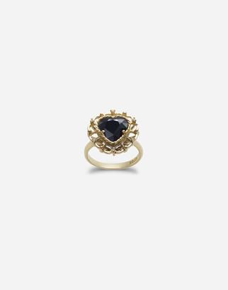 Dolce & Gabbana Heart-Shaped Sapphire Ring