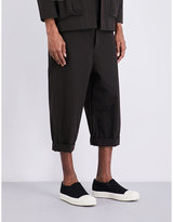 Toogood Sculptor Cropped Cotton Trousers