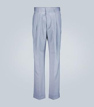 Marni Pleated straight leg pants