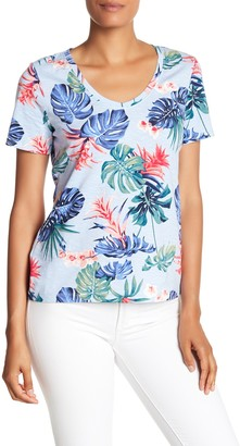 Tommy Bahama Bogart Blooms Short Sleeve Top
