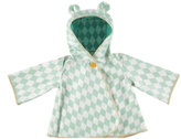Nobodinoz Green Diamonds Raincoat